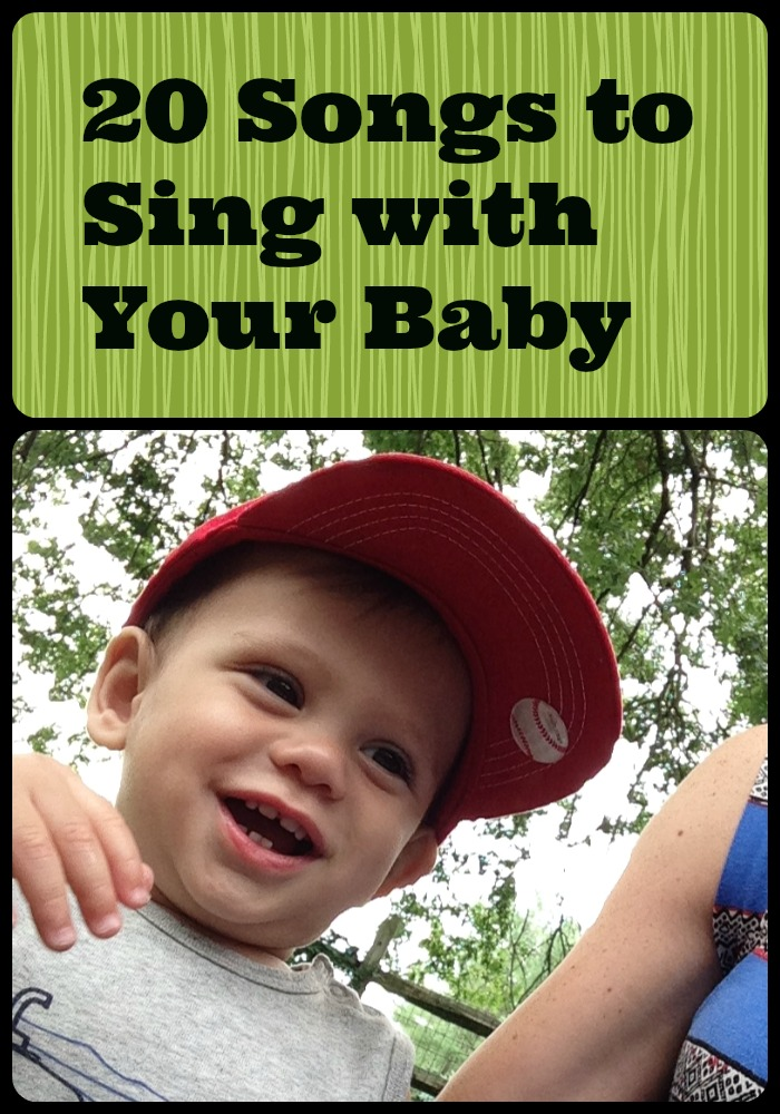 20 songs to sing with your baby