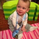 My little medal winner