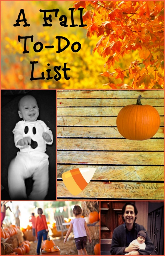 A Fall To-Do List via http://www.thegoodmama.org