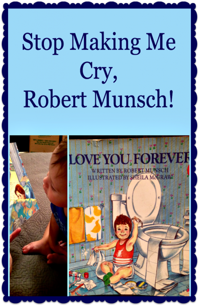 Stop Making Me Cry, Robert Munsch! Funny