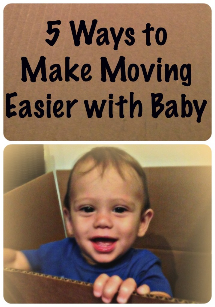 5 ways to make moving easier with baby via http://www.thegoodmama.org