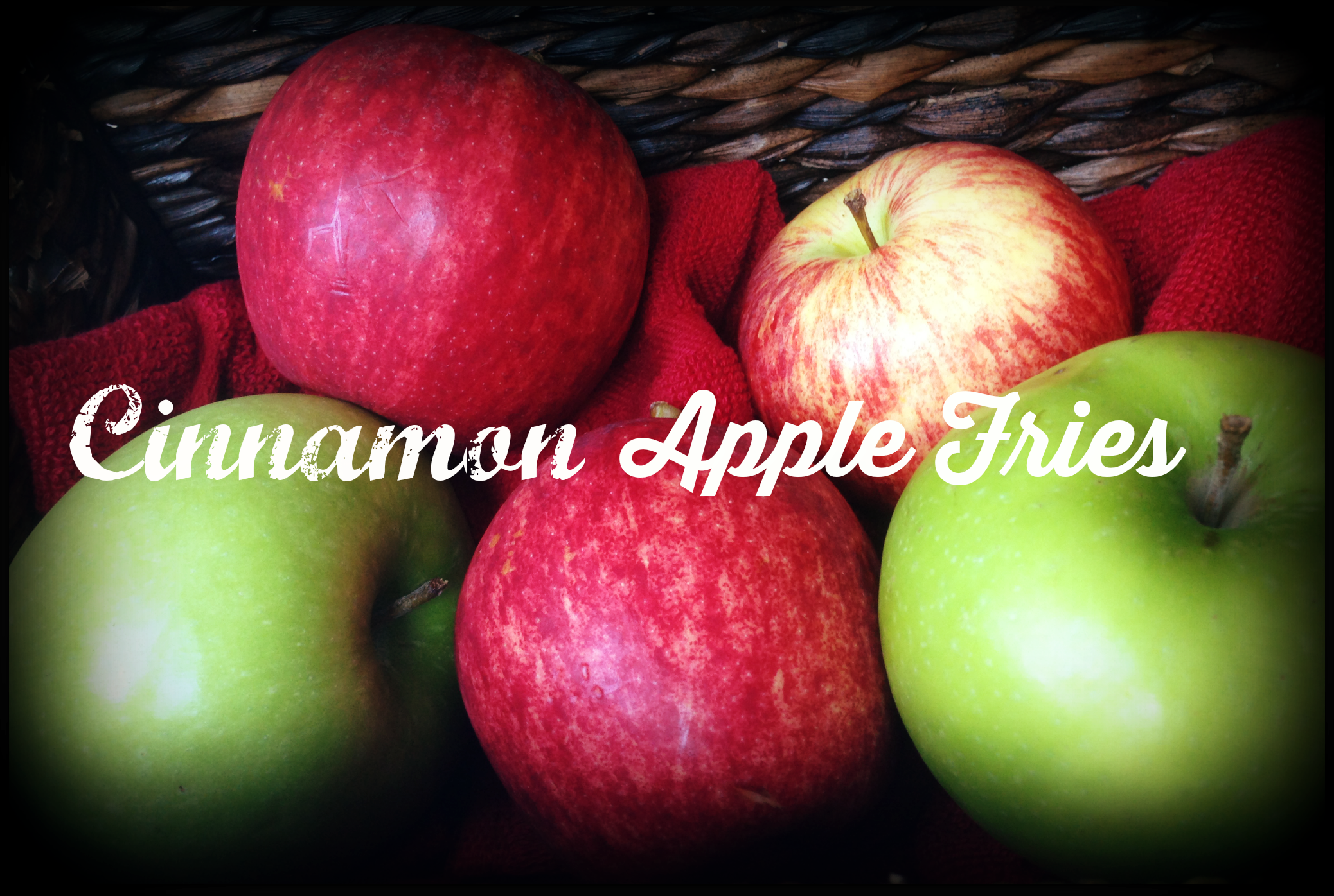 Cinnamon apple fries via http://www.thegoodmama.org