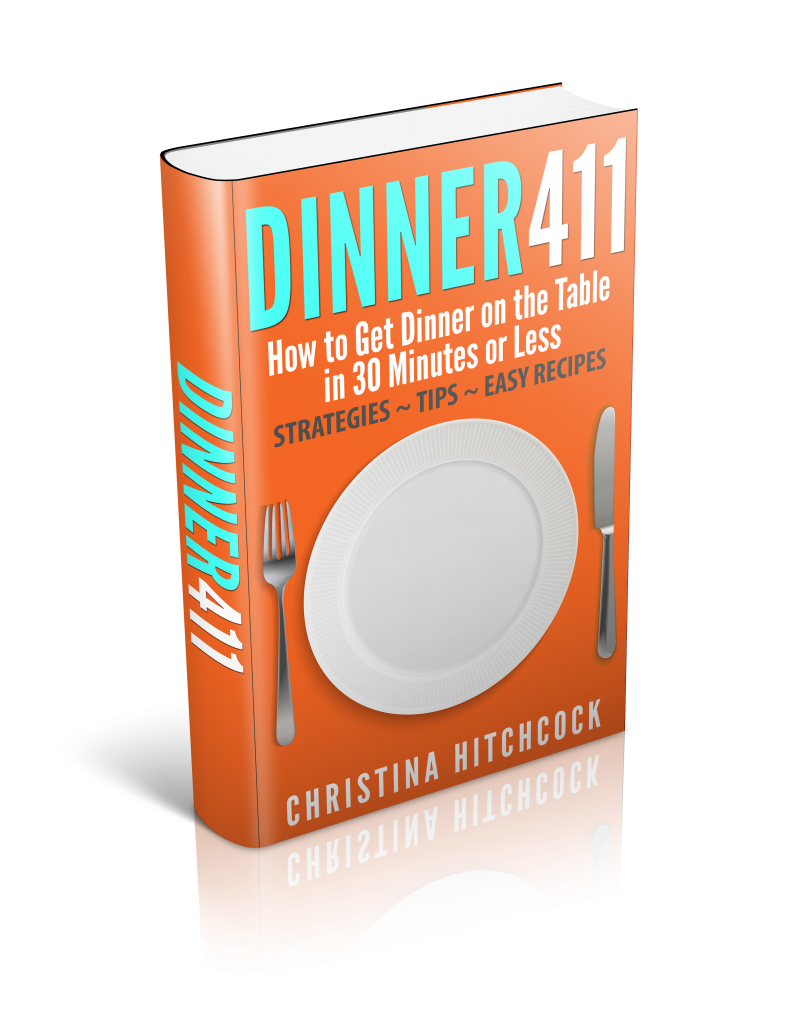 Dinner 411 Book Review via http://www.thegoodmama.org