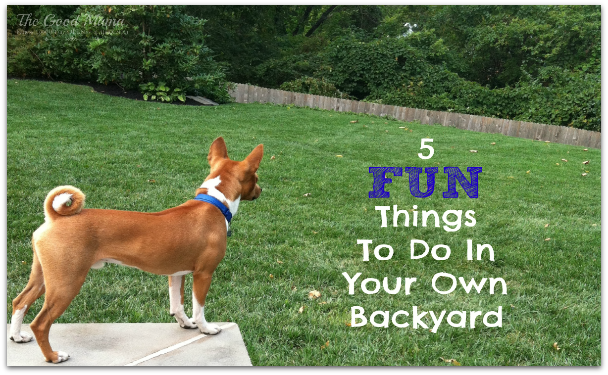 - 5 Fun Things To Do In Your Own Backyard - The Good Mama