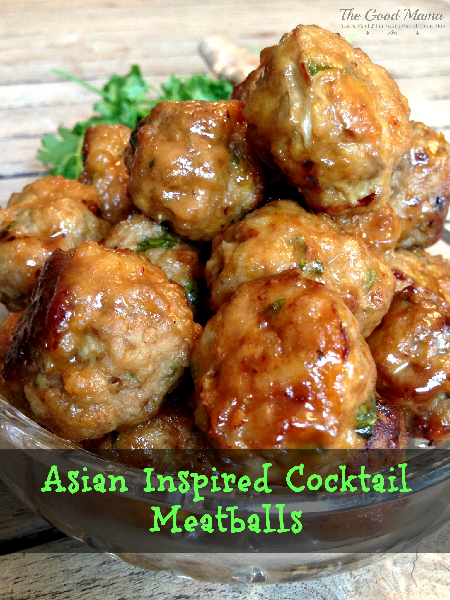 Asian Inspired Cocktail Meatballs