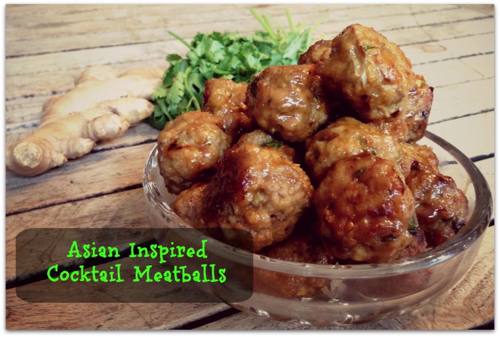 Asian Inspired Cocktail Meatballs via http://www.thegoodmama.org
