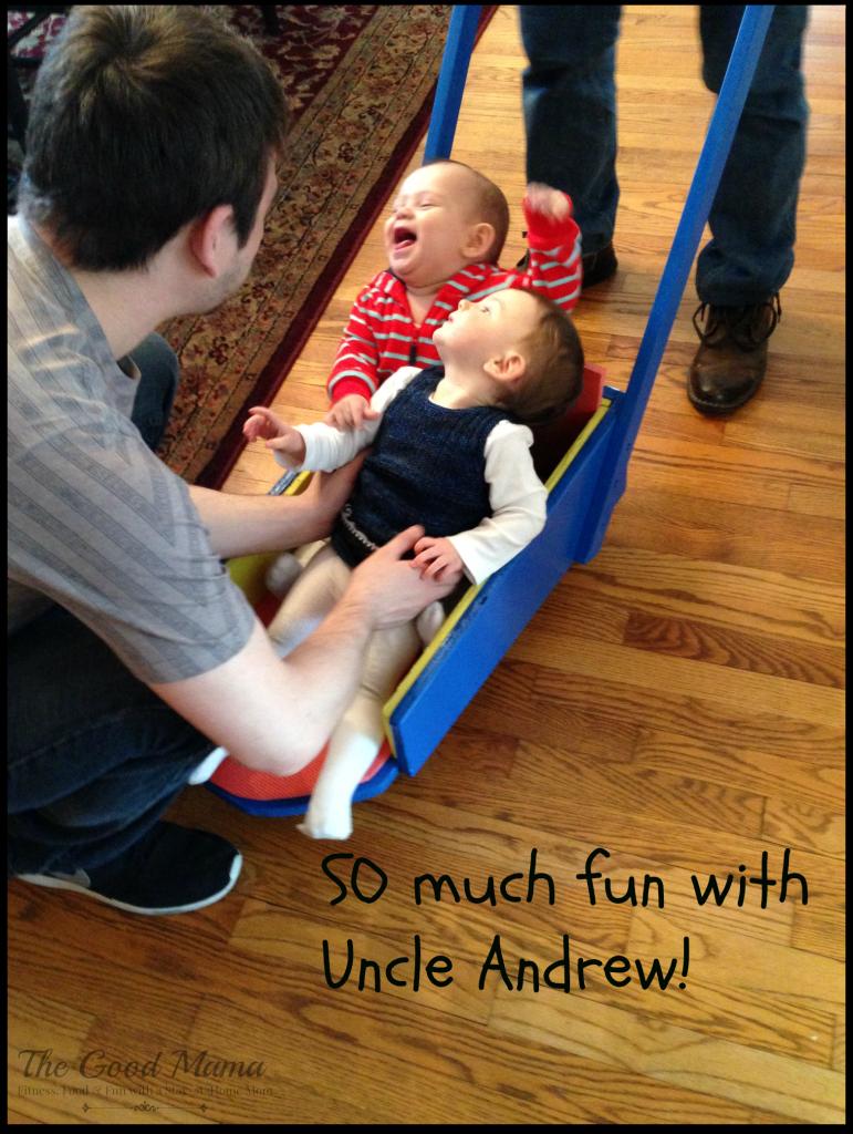 Uncle nephew fun