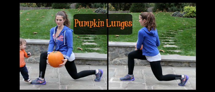 Fat Burning Exercises with a Pumpkin
