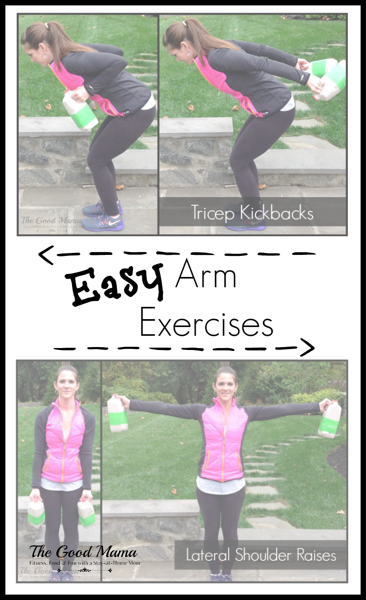 Easy Arm Exercises- SO simple