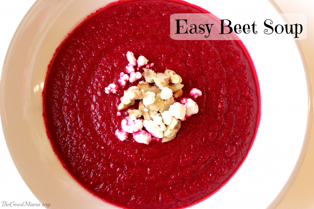 easy beet soup