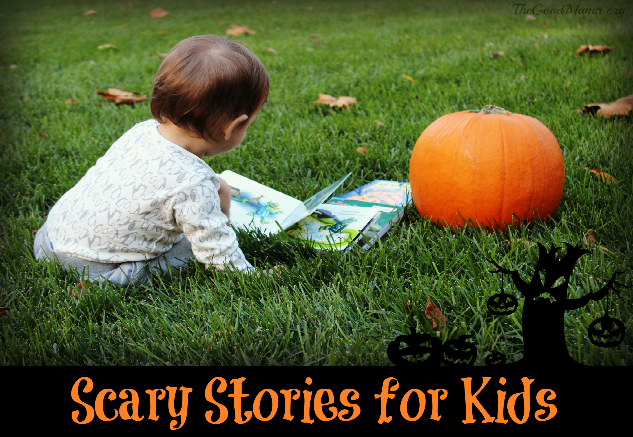Scary Stories for Kids- Just in time for Halloween!