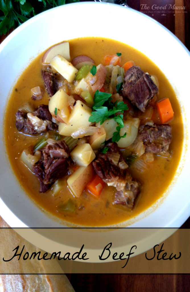 Homemade Beef Stew- Easy & Delicious!