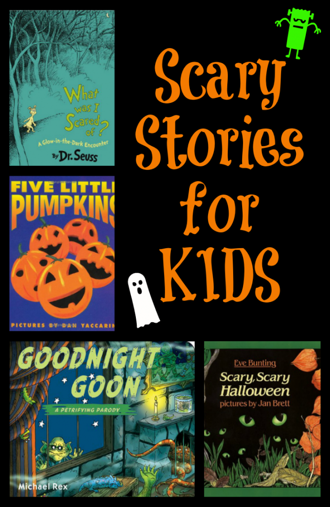 Scary Stories for Kids- Perfect for Halloween!
