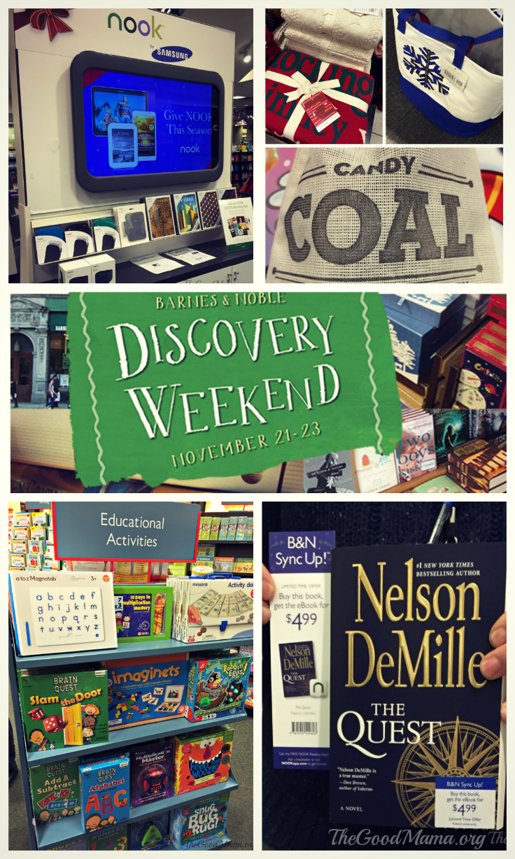 Barnes and Noble Discovery Weekend and Gift Ideas