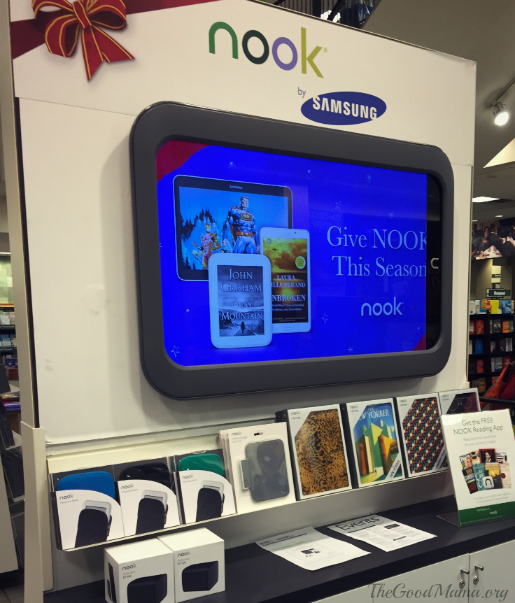Barnes and Noble Discovery Weekend and Gift Ideas- Get a nook!