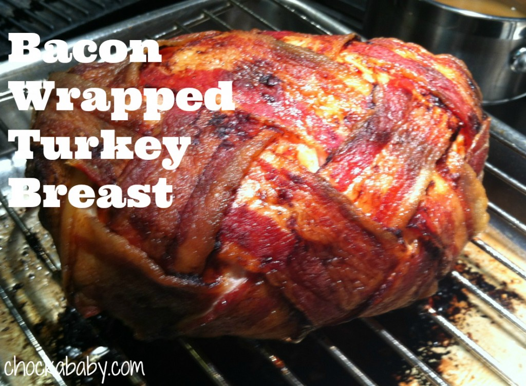 Delicious Bacon Wrapped Turkey Breast Recipe