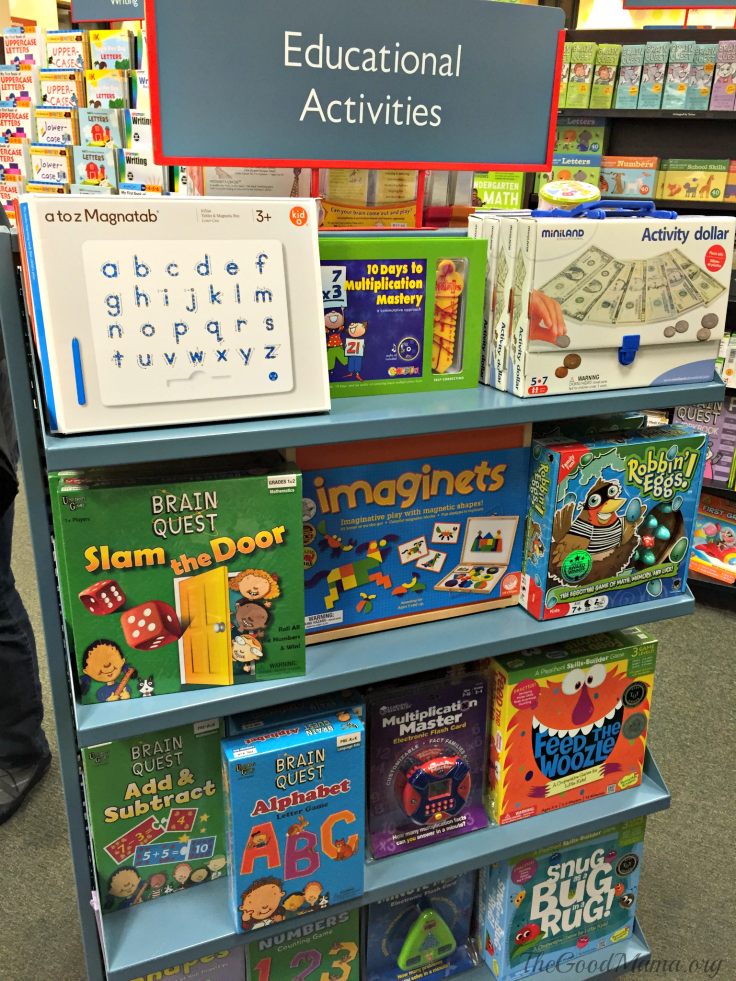 Barnes and Noble Discovery Weekend and Gift Ideas- They have plenty of educational games for kids and adults of all ages!