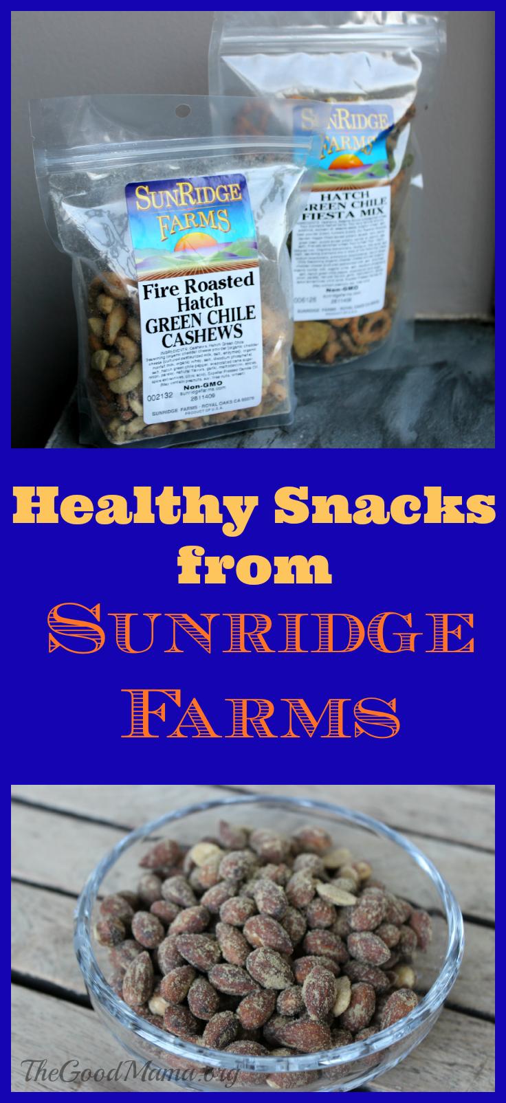 Healthy Snacks from SunRidge Farms- So tasty!