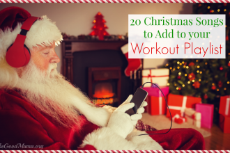 20 Upbeat Christmas Songs to add to your Workout Playlist right NOW!
