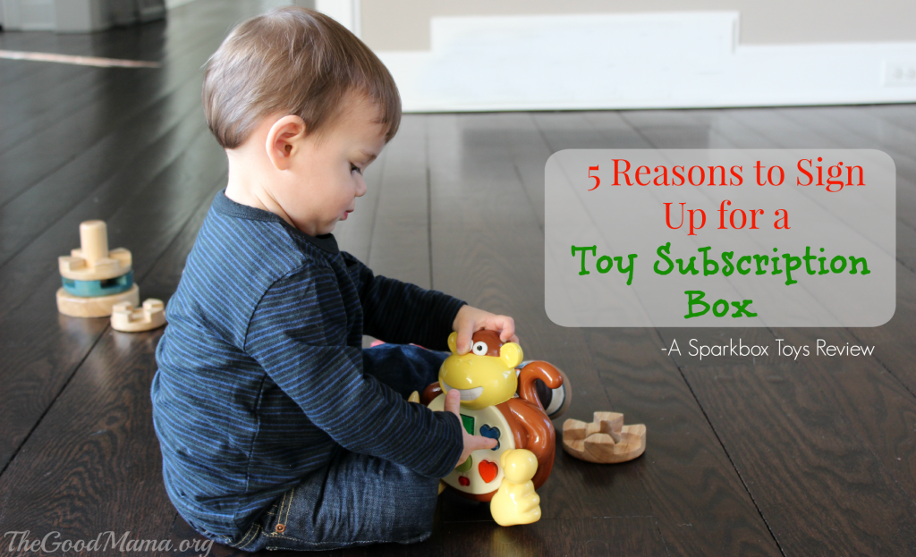 5 Reasons to Sign Up for a Toy Subscription Box- a Sparkbox Toy Review