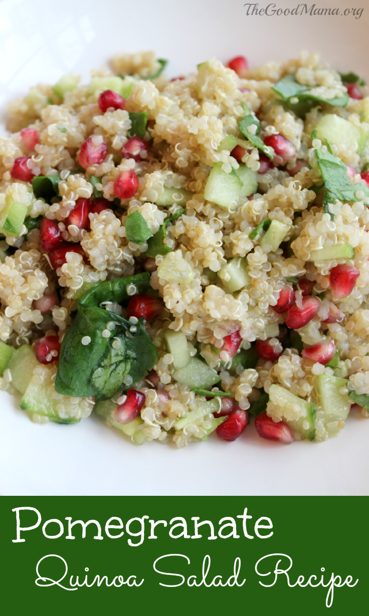 Pomegranate Quinao Salad Recipe- Perfect for the Holiday season