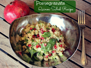 Pomegranate Quinoa Salad Recipe- Perfect for the Holiday season!