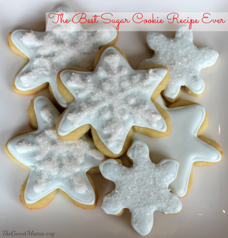 The Best Sugar Cookie Recipe Ever