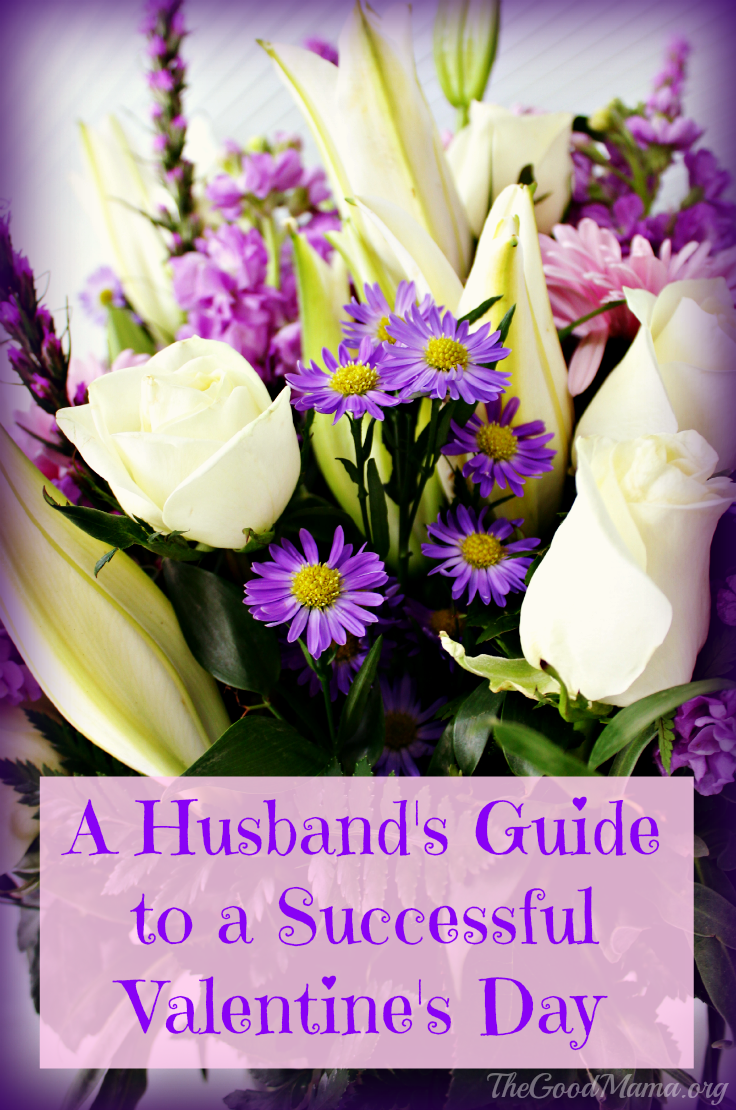 A Husband's Guide to a Successful Valentine's Day- I'm definitely showing this to my husband.