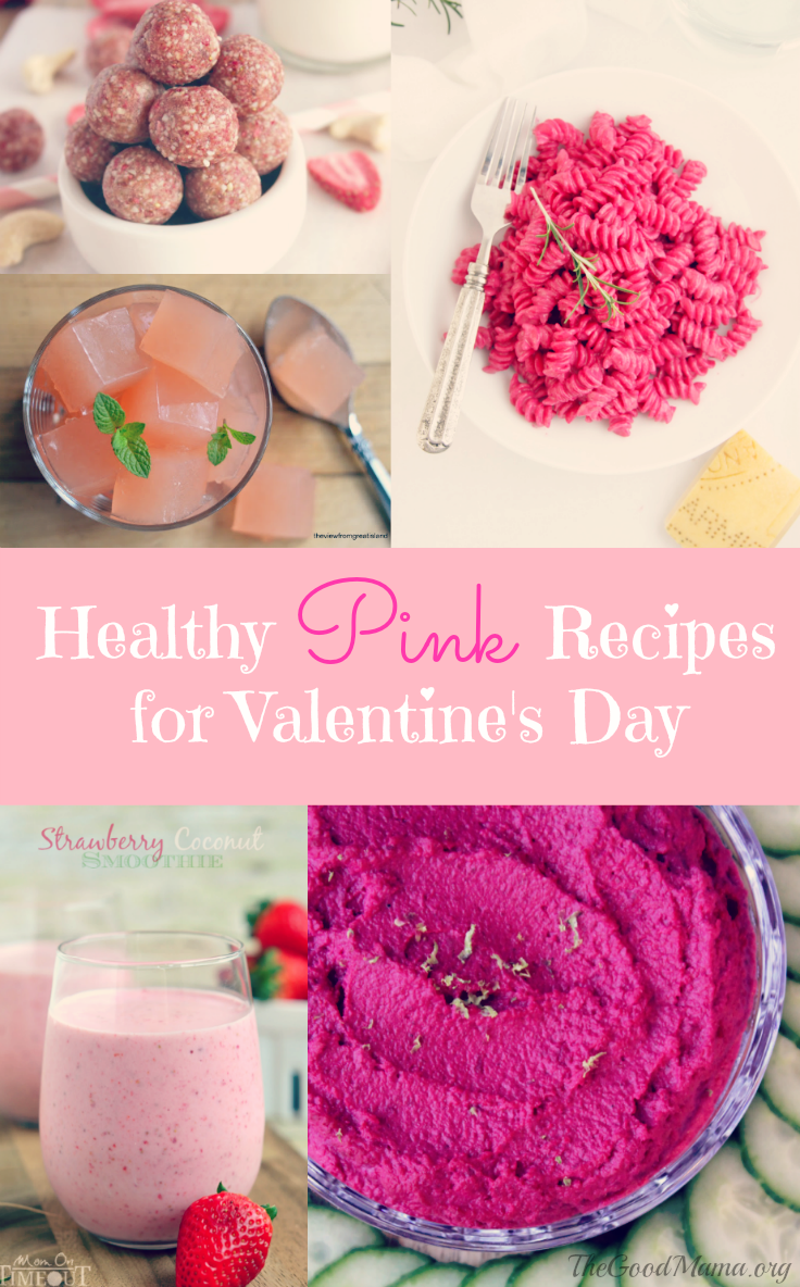 Healthy Pink Recipes perfect for Valentine's Day