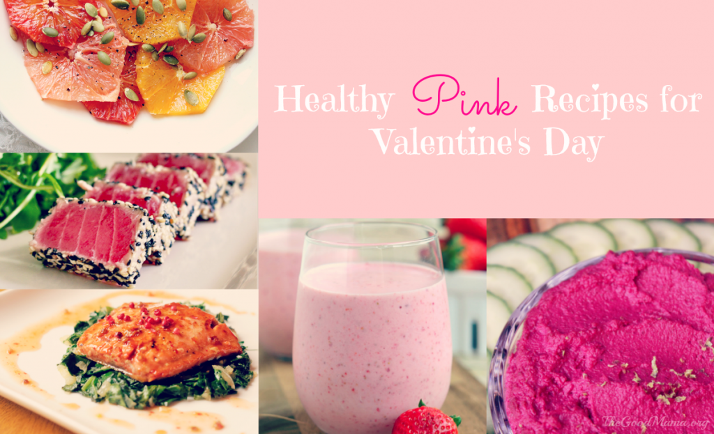 Healthy Pink Recipes for Valentine's Day