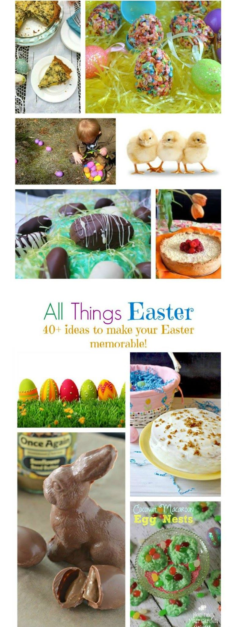 #AllThingsEaster- Over 25 Easter dishes and activities!