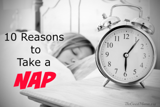 10 Reasons to Take a Nap