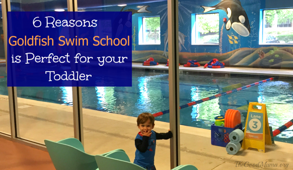 6 Reasons Goldfish Swim school is perfect for your toddler!