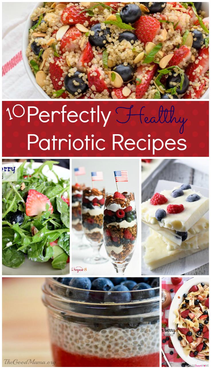 10 Perfectly Healthy Patriotic Recipes