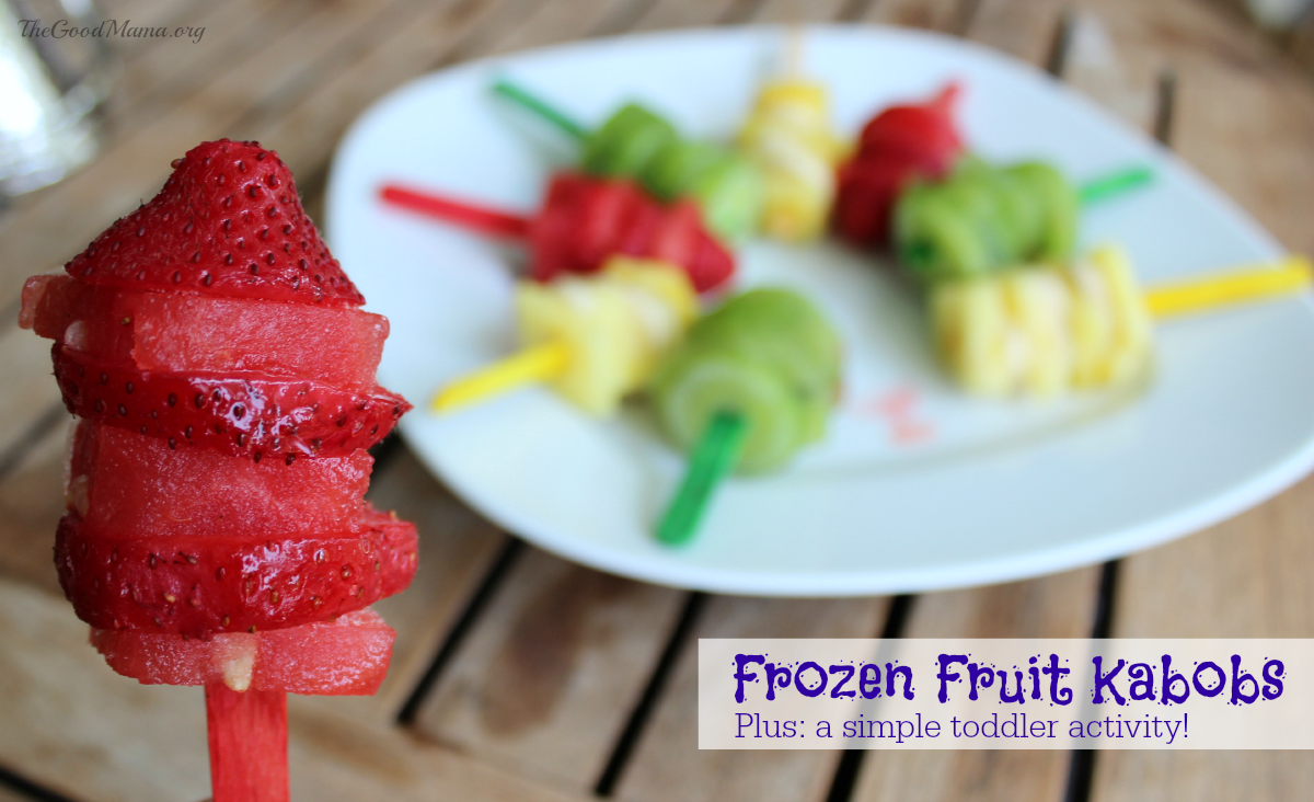 Frozen Fruit Kabobs Recipe