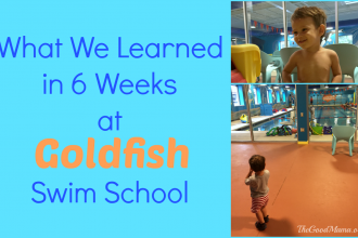 What We Learned in 6 Weeks at Goldfish swim school