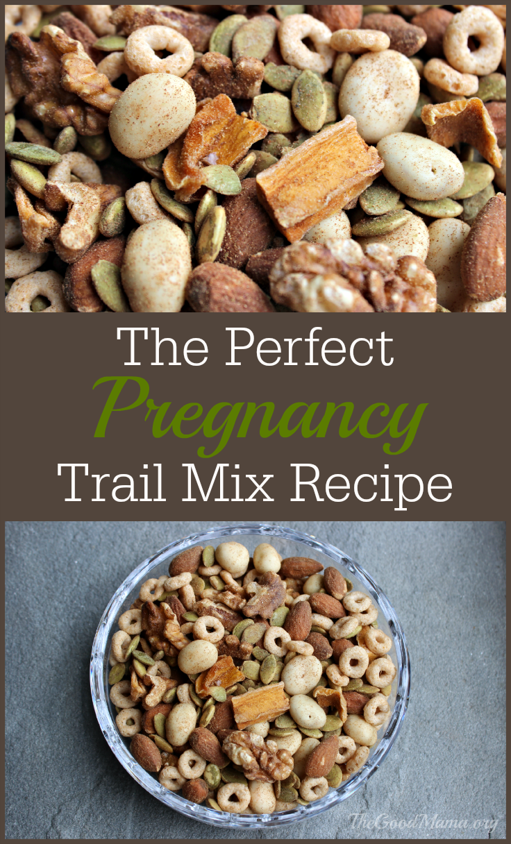 The Perfect Pregnancy Trail Mix Recipe