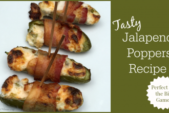 Tasty Jalapeño Poppers Recipe- Perfect for the Big Game!