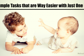 7 Simple Tasks that are Way Easier with Just One Kid