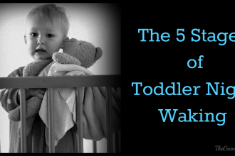 The 5 Stages of Toddler Night Waking