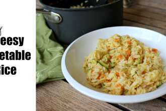 Easy Cheesy Vegetable Rice Recipe