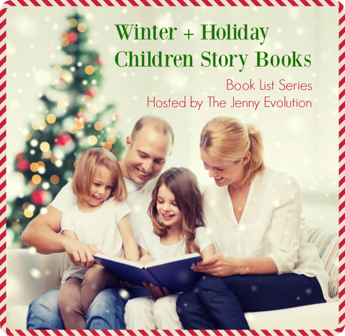 Winter + Holiday Children story Books