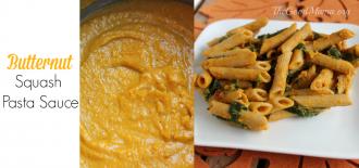 Butternut squash Pasta sauce recipe