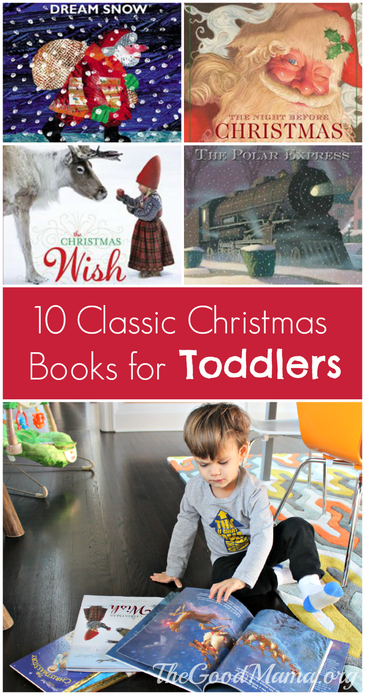 10 Classic Christmas Books for Toddlers