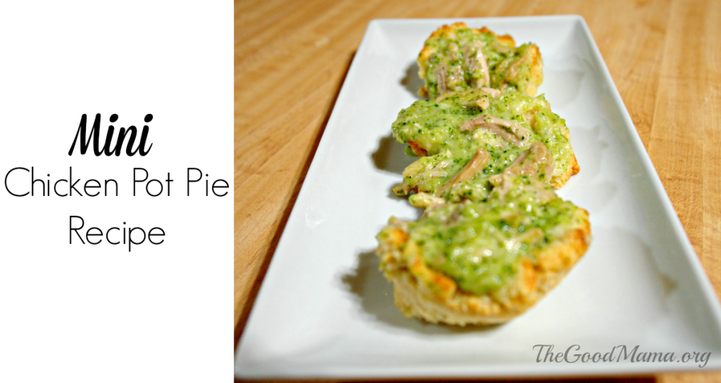 Mini Chicken Pot Pie Recipe