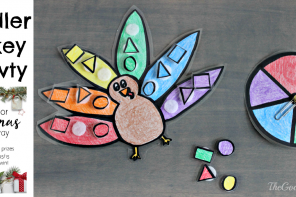 Toddler Turkey Activity PLUS Giveaway