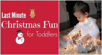 Last Minute Christmas Fun for Toddlers