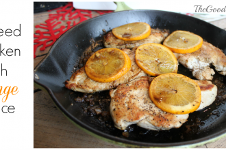 Sauteed Chicken with Orange Sauce