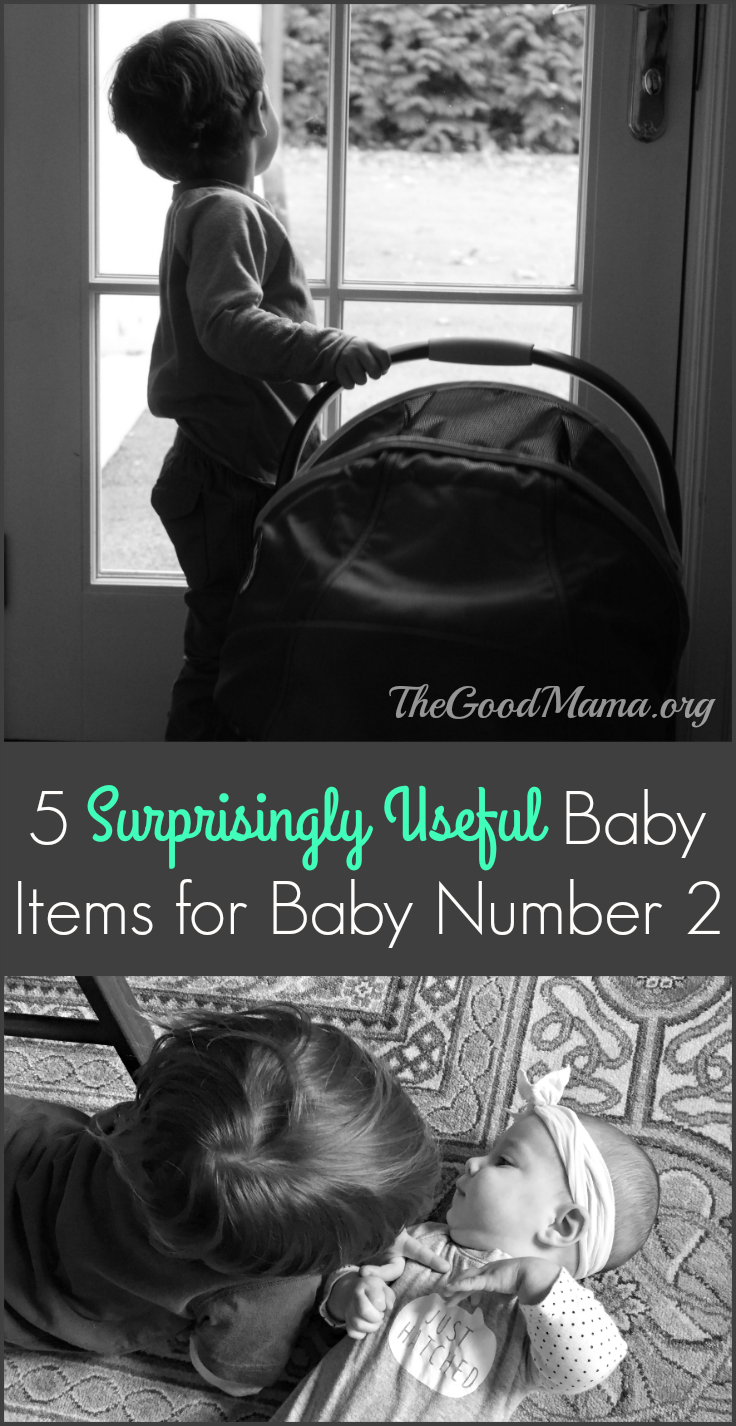 5 surprisingly useful baby items for baby number2