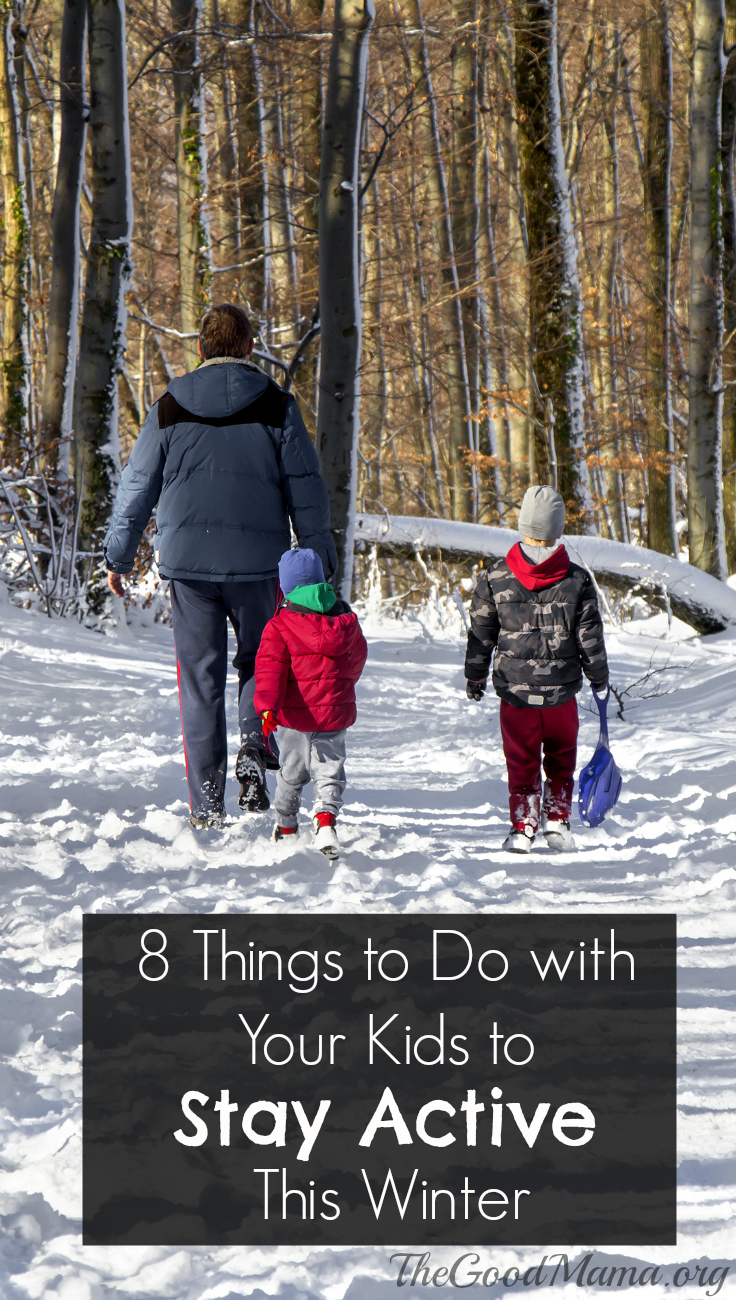 8 Things to Do with Your Kids to Stay Active This Winter